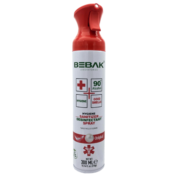 Bebak Levegő fertőtlenítő 300 ml illatmentes