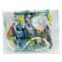 Kép 4/5 - 1 db Gyerek méretű FFP2 maszk autó mintás