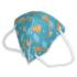 Kép 5/5 - 1 db Gyerek méretű FFP2 maszk zsiráf mintás