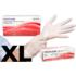 Kép 1/5 - 100 db POLYCARE púdermentes Latex vizsgálókesztyű XL méret